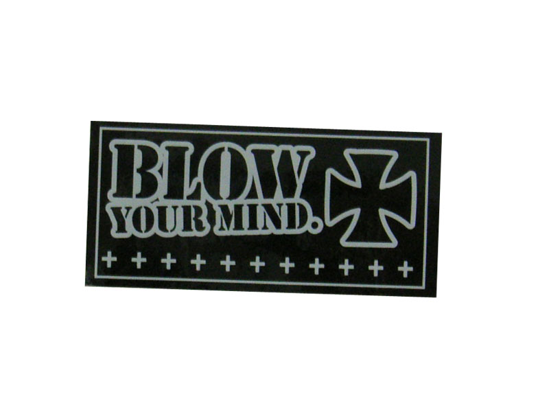 BLOW CROSS STICKER [blow-cross-st]